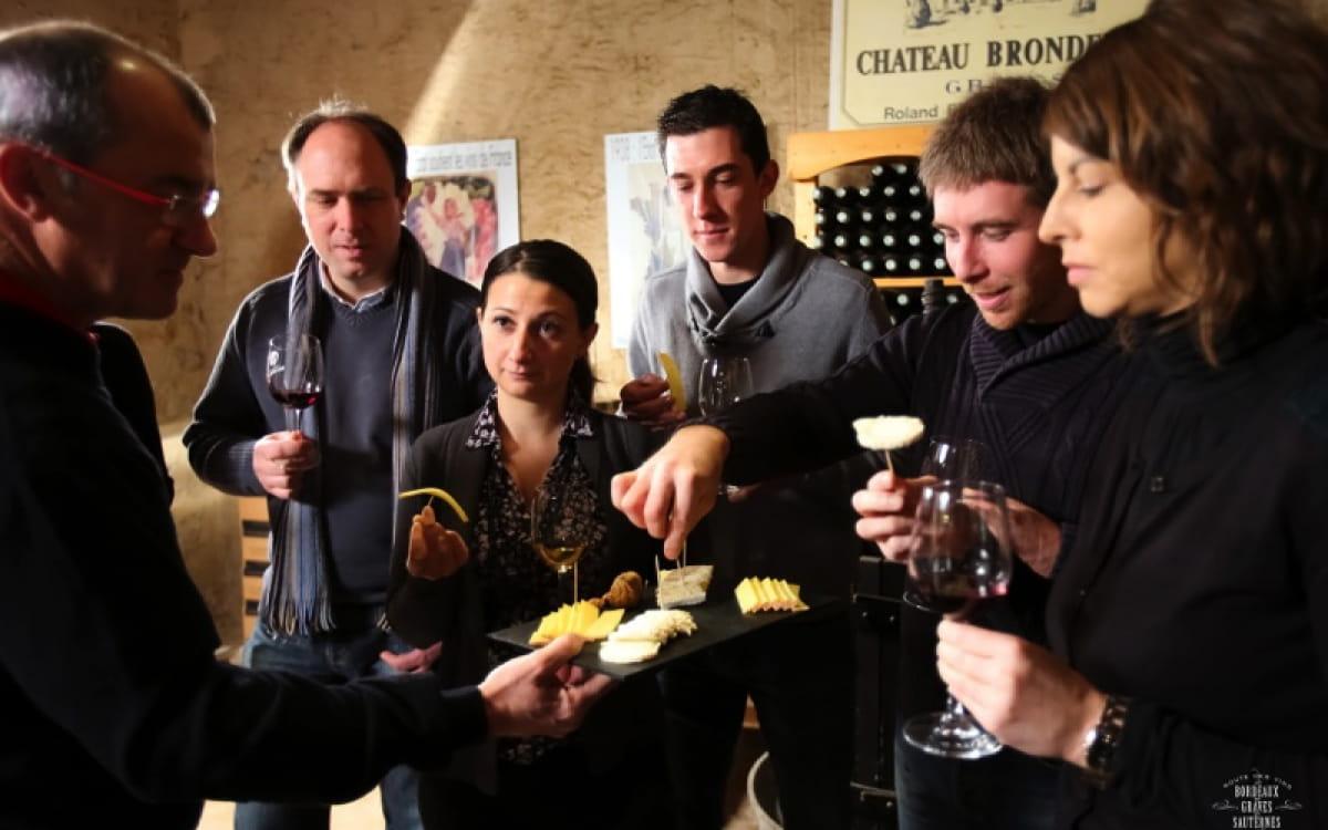 Dégustation mets & vins