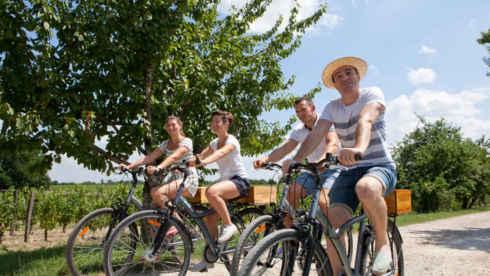 Balade à vélo avec les Ateliers au château