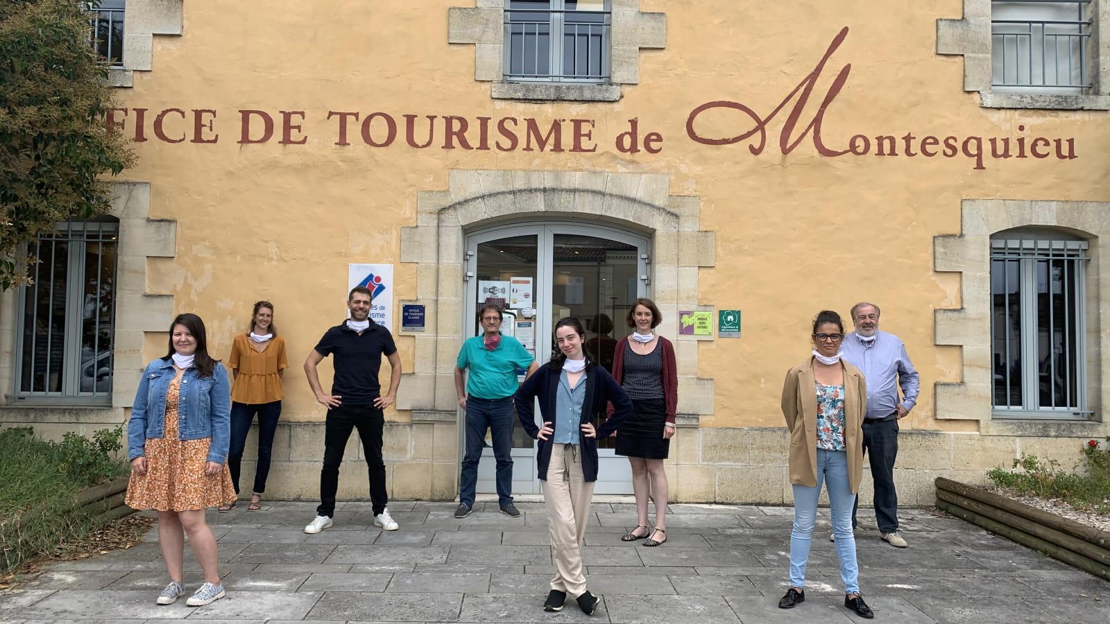 Equipe de l'office de tourisme