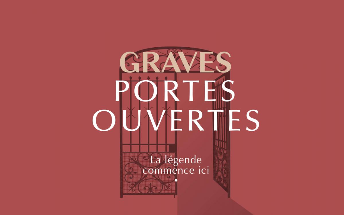 Affiche portes ouvertes des vins de graves 2020