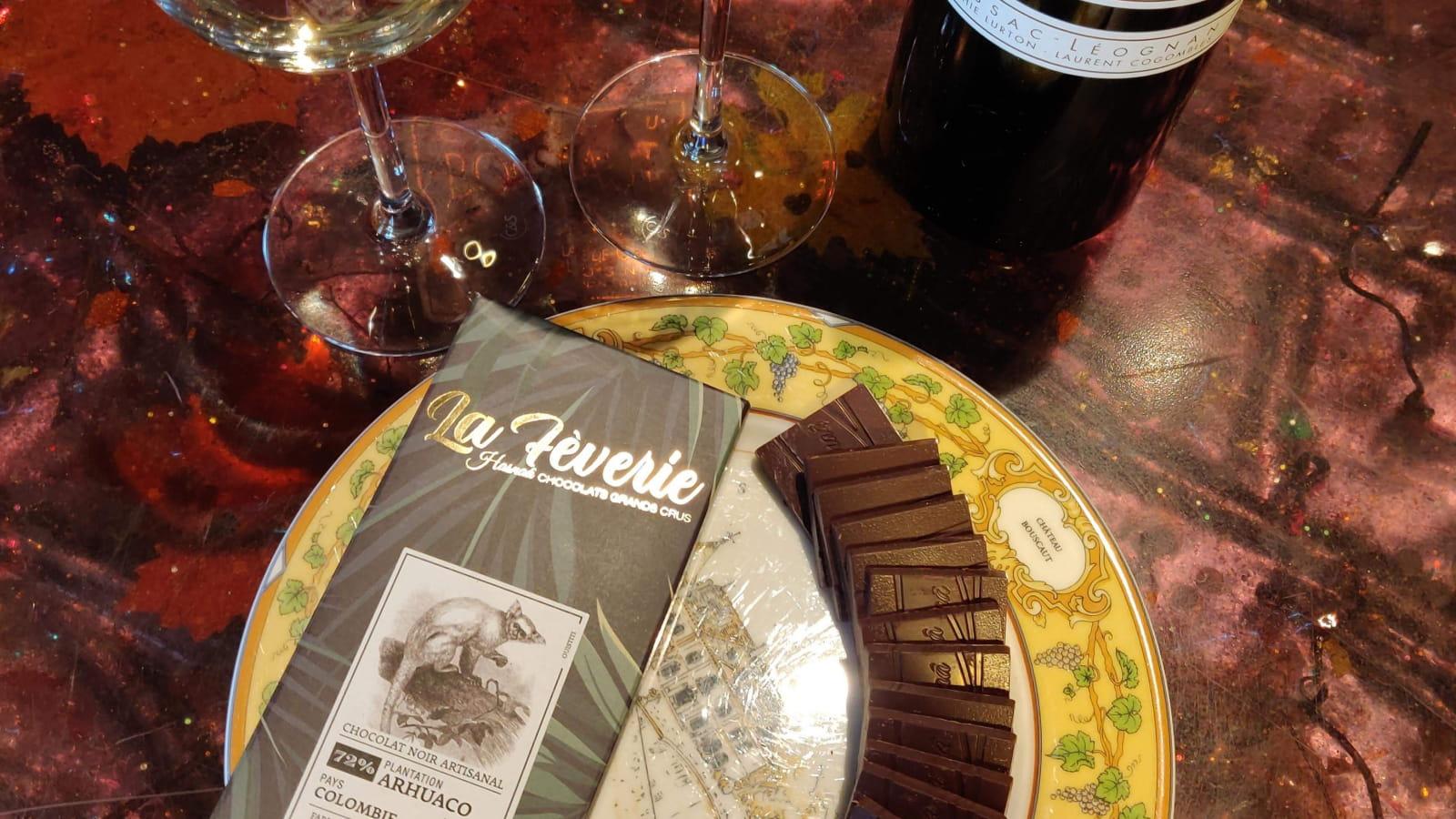 Grands crus vins et chocolat - BOUSCAUT