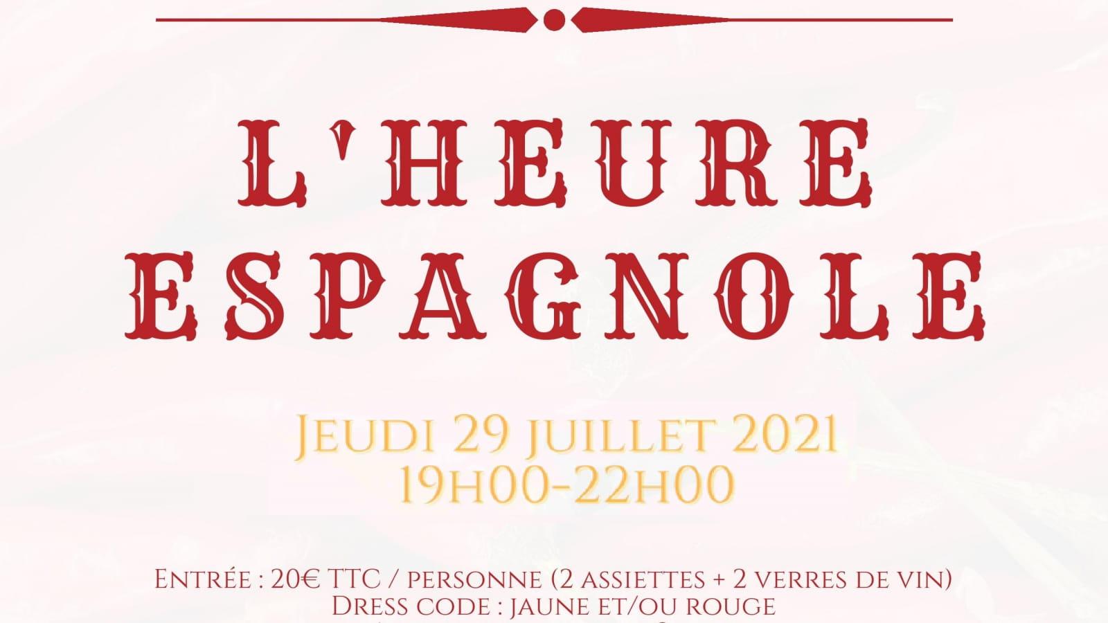 L'HEURE ESPAGNOLE - Affiche